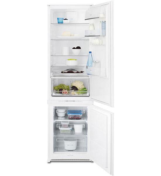 Встраиваемые двухкамерные холодильники Electrolux ENN 93111 AW