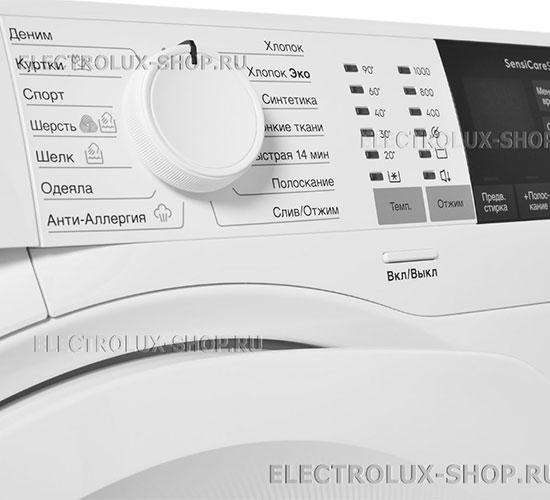 Панель управления стиральной машины Electrolux EW 6F4R 08 WU