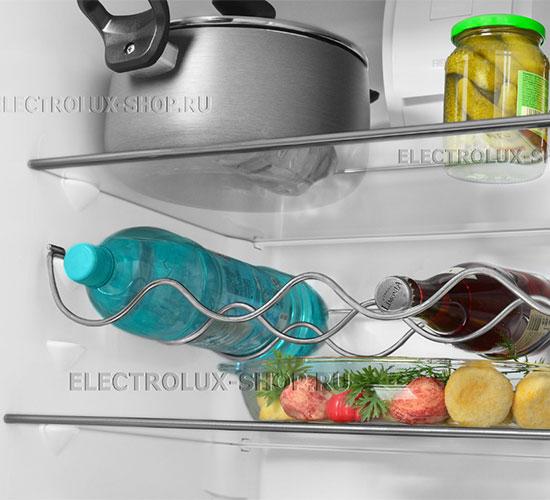 Полки холодильной камеры двухкамерного холодильника Electrolux EN 3454 NOW