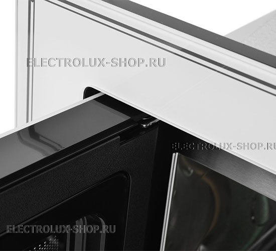 Крепление дверцы встраиваемой микроволновой печи СВЧ Electrolux EMT 25203 C