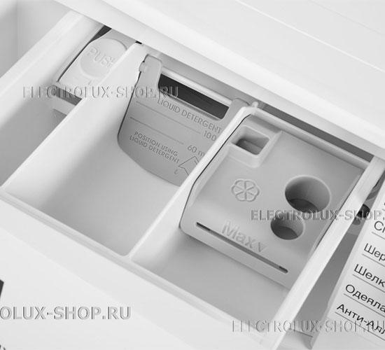 Кювета для моющих средств стиральной машины Electrolux EW 6F4R 08 WU