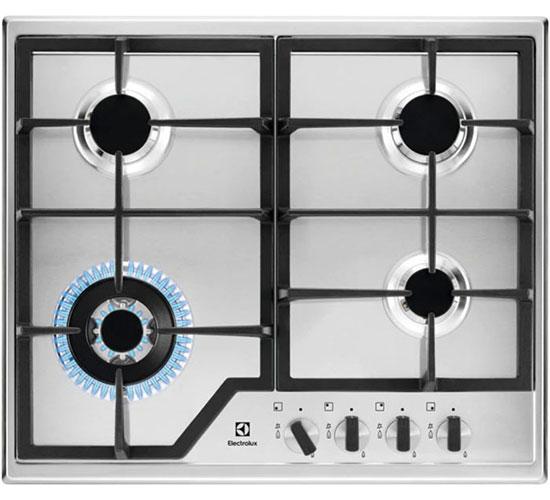 Встраиваемая газовая варочная панель Electrolux GPE 363 MX