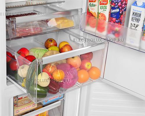 Корзины холодильной камеры двухкамерного холодильника Electrolux EN 3854 NOW