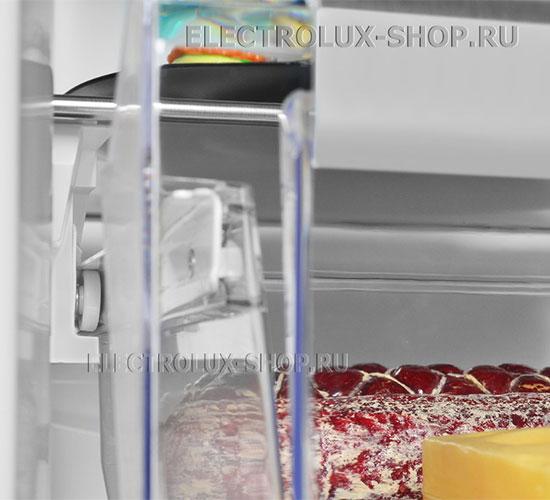 Отделение для деликатных продуктов двухкамерного холодильника Electrolux EN 3454 NOW