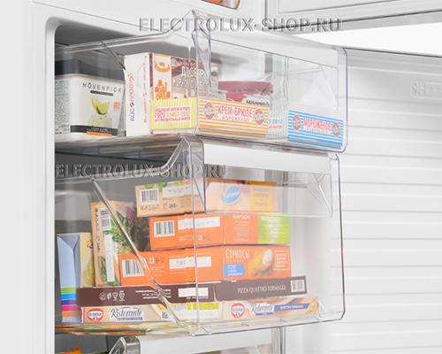 Корзины морозильной камеры двухкамерного холодильника Electrolux EN 3854 NOW