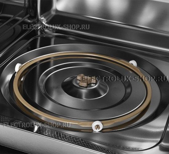 Поворотный механизм стола встраиваемой микроволновой печи СВЧ Electrolux EMT 25203 C