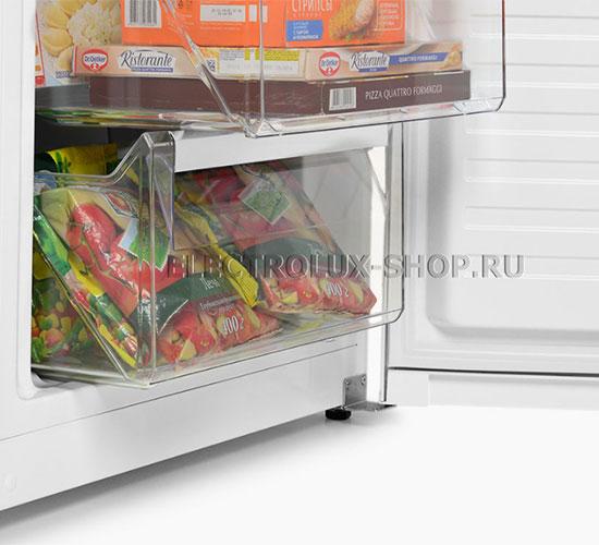 Корзины морозильной камеры двухкамерного холодильника Electrolux EN 3454 NOW