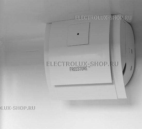 Двухкамерный холодильник Electrolux EN 3454 NOX с функцией FreeStore