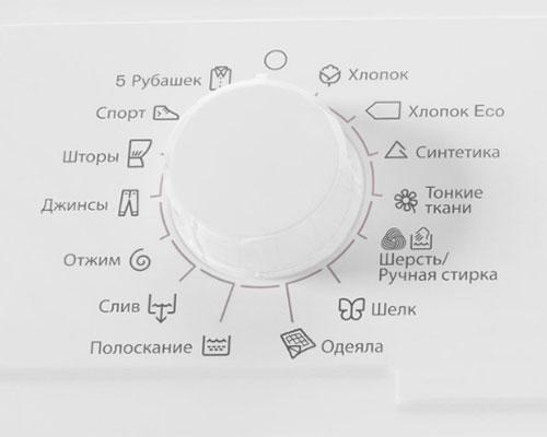 Программы стиральной машины Electrolux EWT 0862 IFW