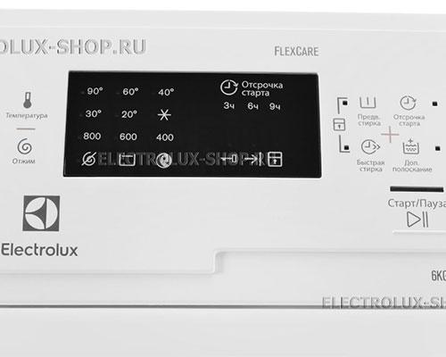 Панель управления стиральной машины Electrolux EWT 0862 IFW