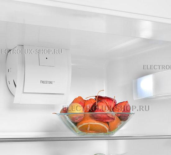 Холодильная камера двухкамерного холодильника Electrolux EN 3452 JOW