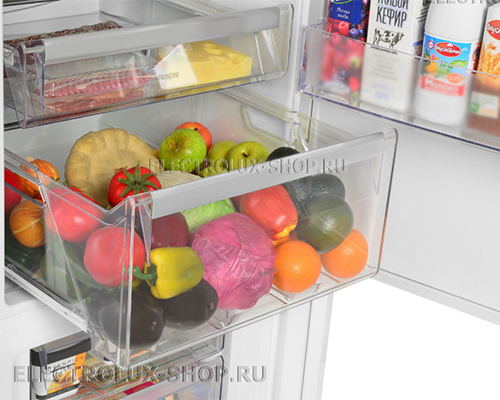 Корзина холодильной камеры двухкамерного холодильника Electrolux EN 3889 MFW CustomFlex
