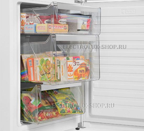 Корзины морозильной камеры двухкамерного холодильника Electrolux EN 3452 JOW