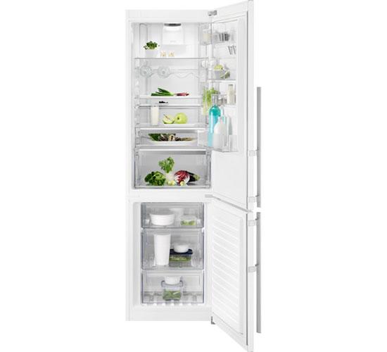 Двухкамерный холодильник Electrolux EN 3889 MFW CustomFlex