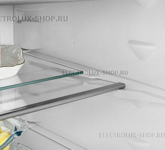 Складная полка двухкамерного холодильника Electrolux EN 3889 MFW CustomFlex