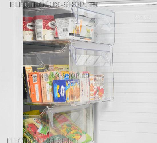 Корзины морозильной камеры двухкамерного холодильника Electrolux EN 3889 MFW CustomFlex